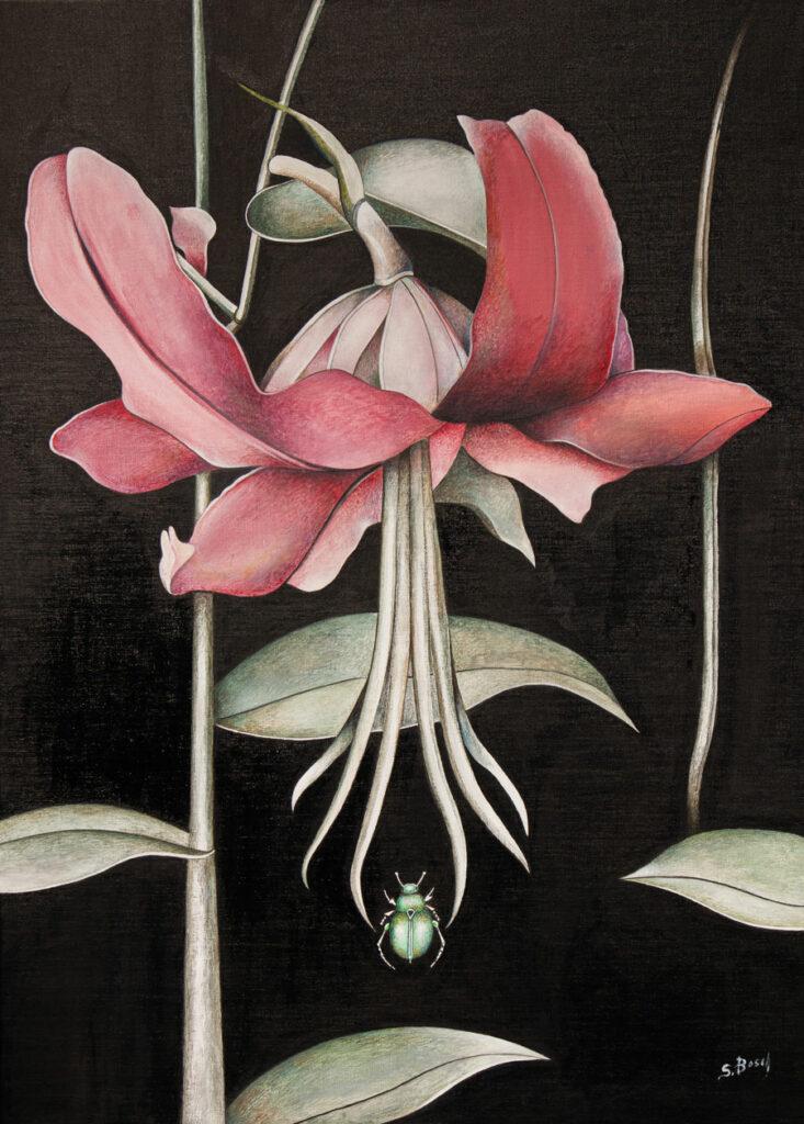 Exposition de Sabine Van op den Bosch à Spa (Galerie d'art Pouhon Prince de Condé)