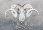 PAR LES CORNES DE BELZEBUTH - Acrylique sur toile - 50 X 70 cm