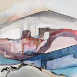 L'ACCES - Acrylique sur toile - 80 X 80 cm
