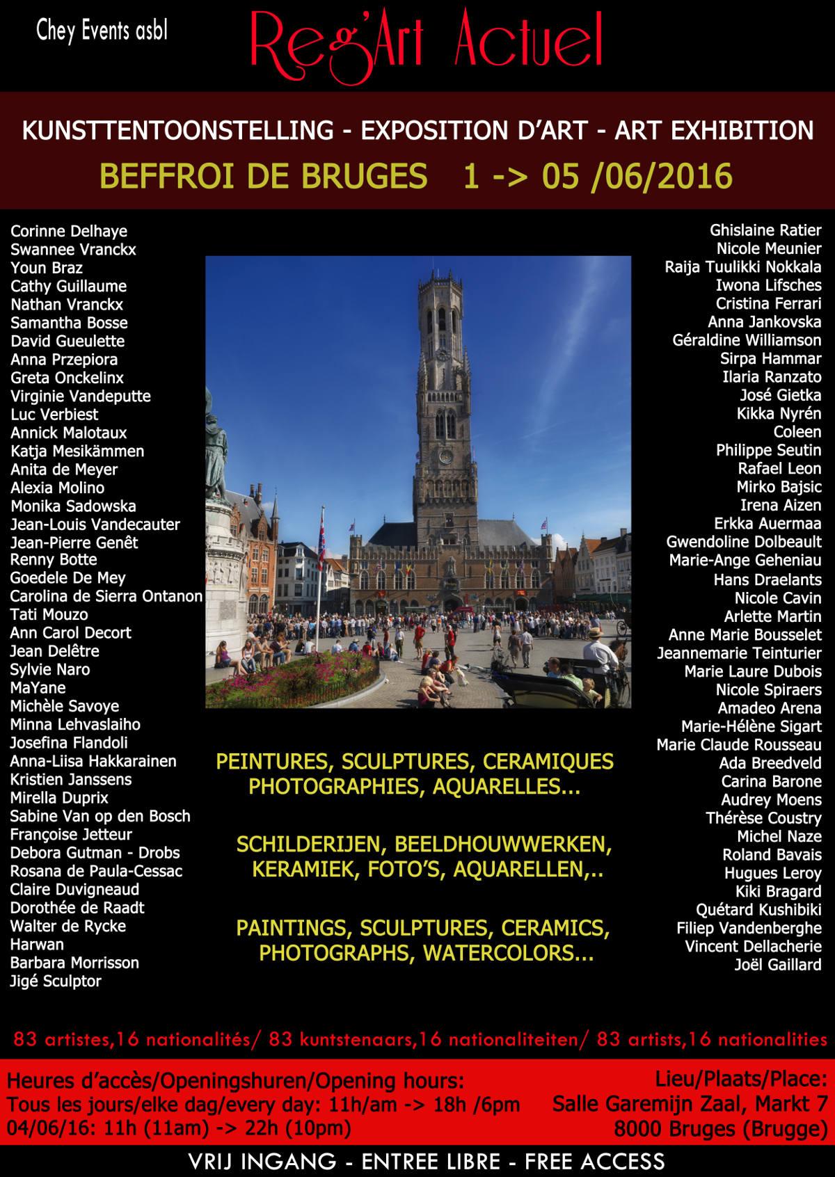 Affiche Reg'Art Bruges