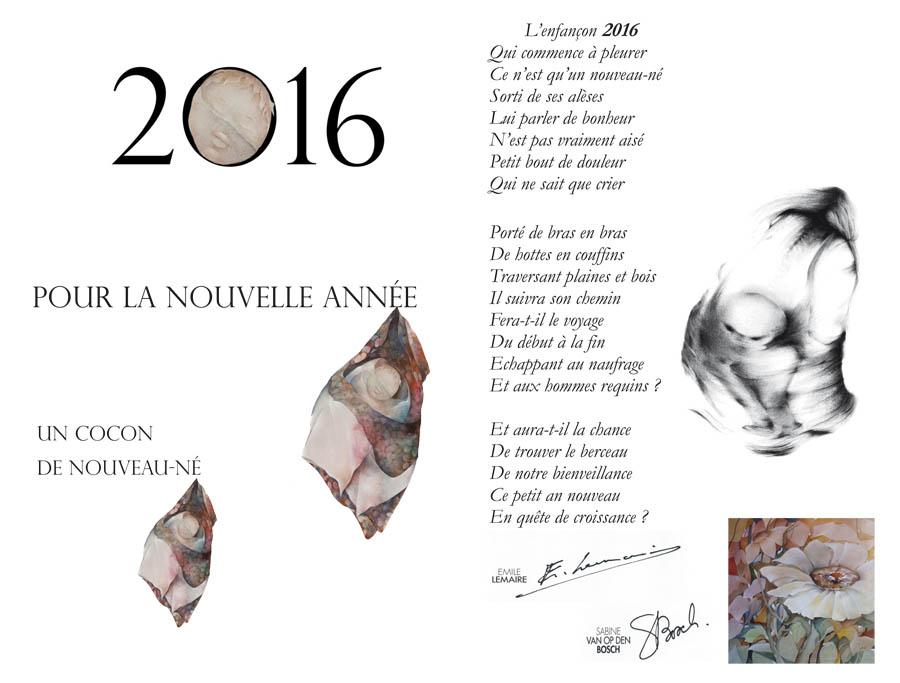 CARTE DE VOEUX 2016