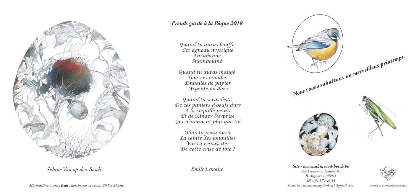 Joyeuses Pâques 2018