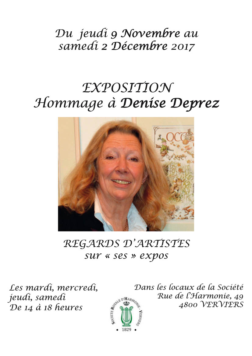Exposition en hommage à Denise Deprez