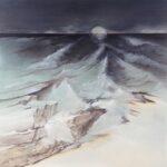 LES EAUX DANGEREUSES - Acrylique sur toile - 80 x 80 cm