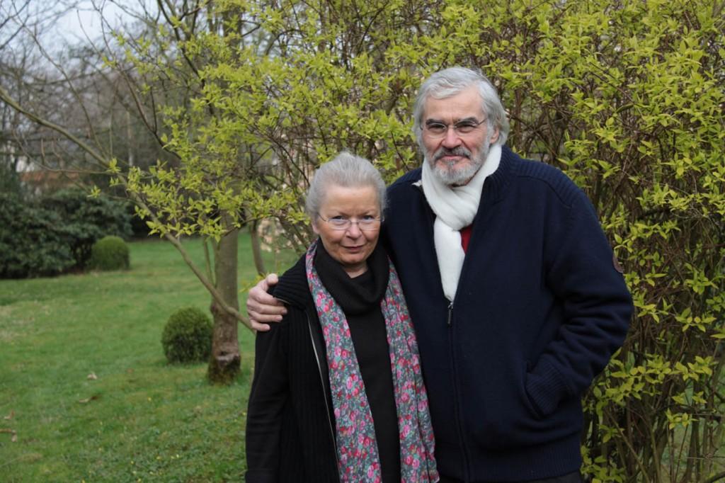 Portrait Emile Lemaire et Sabine van op den Bosch