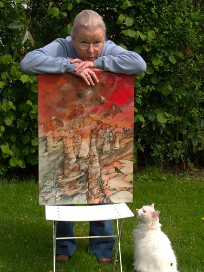 Sabine Van op den Bosch -portrait