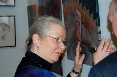 Sabine van op den Bosch expose à l'Harmonie de VerviersSabine van op den Bosch expose à l'Harmonie de Verviers
